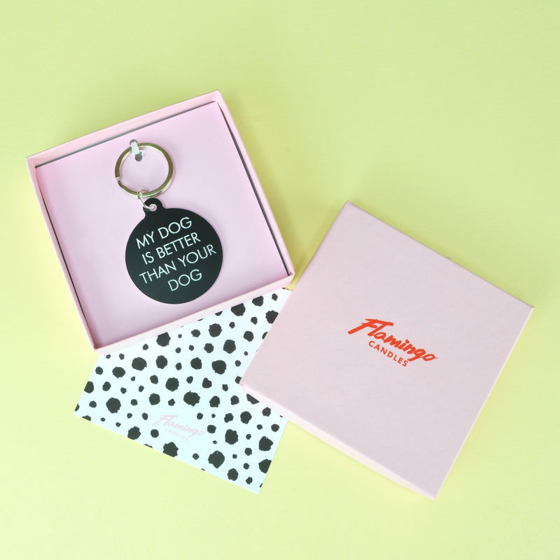 May Contain Prosecco Keytag