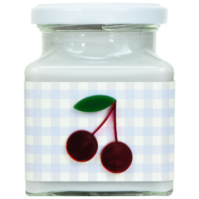 Cherry & Vanilla Lilac Gingham Candle