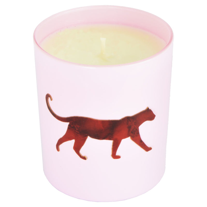 Grape & Apple Pink & Marble Panthera Candle