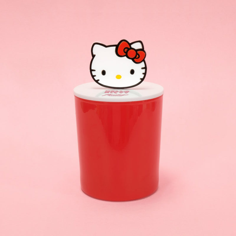 Hello Kitty x Flamingo Candles Sugar Berry Red Acrylic Icon Top Candle