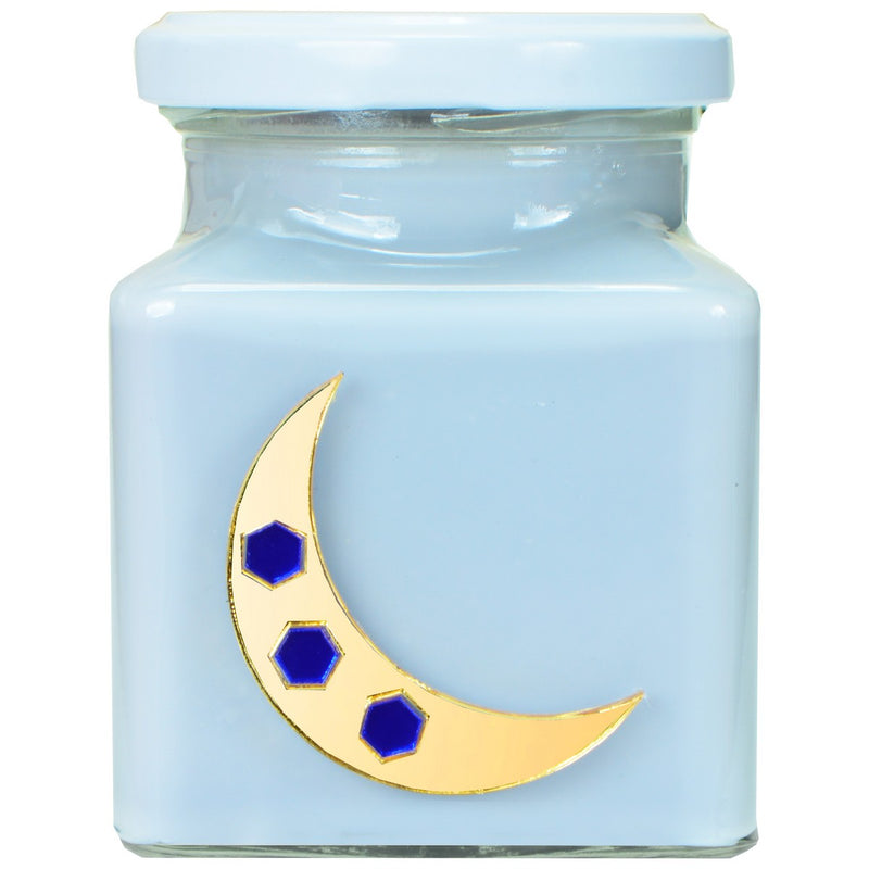 Pink Mimosa Cosmic Moon Candle