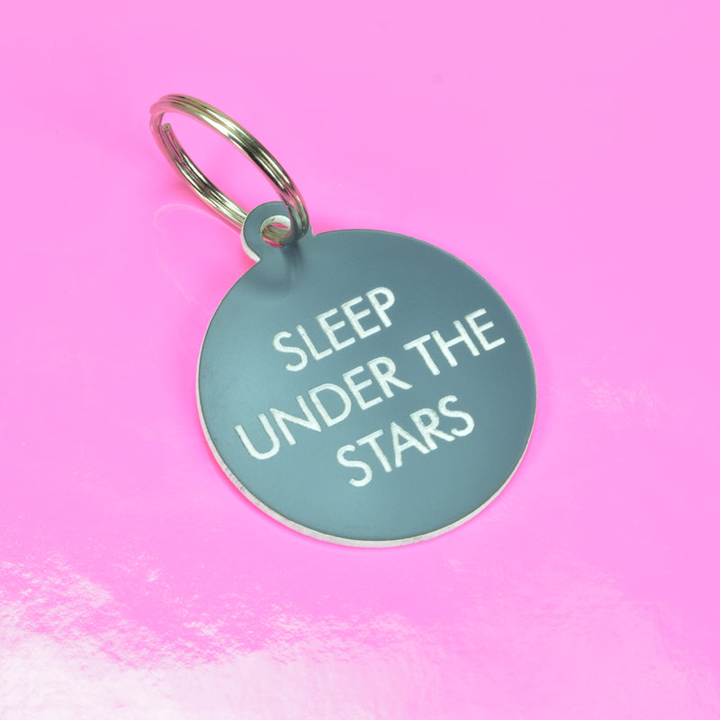 Sleep Under the Stars Keytag