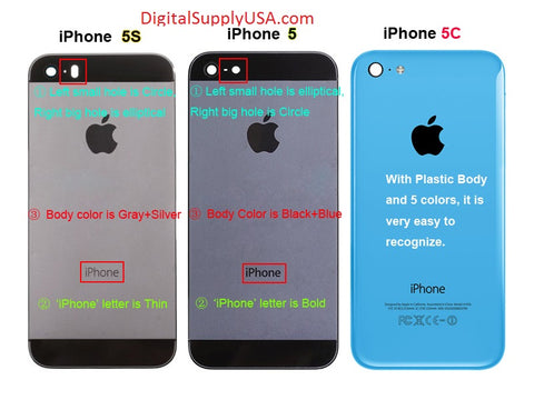 what is the difference between iphone 5s and 5c difference between the iphone 5 5s 5c lcd and digitizer 21457