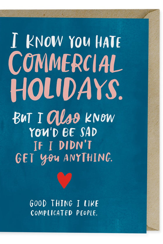 Commercial Holidays - Love Card