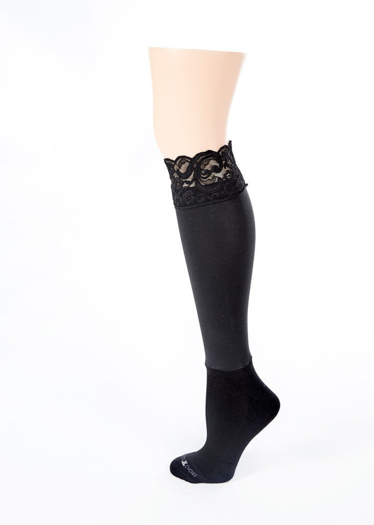 Darby Kneehighs, Black Lace - Sophie Stargazer Boutique - 2