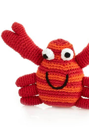 Happy Crab Children's Rattle
