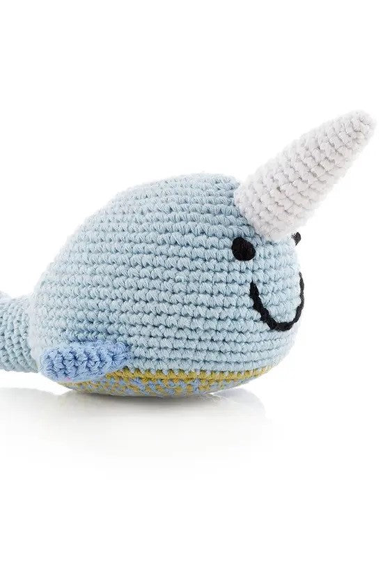 Narwhal Children's Rattle