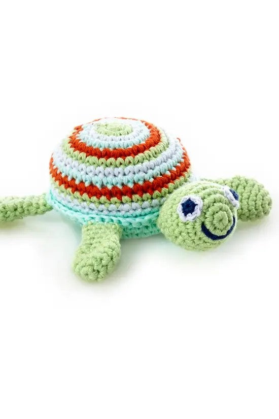 Happy Turtle Children's Rattle