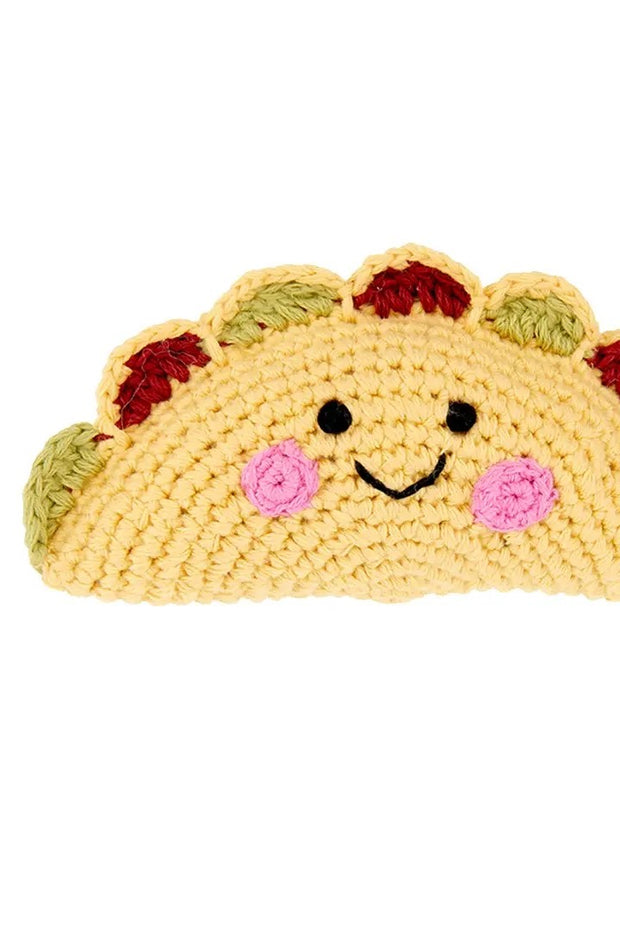 Friendly Taco Baby Rattle