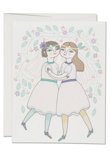 Girl Couple - Wedding Card - Sophie Stargazer Boutique - 1