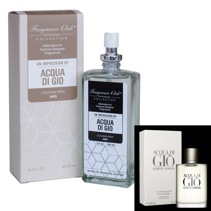 Fragrance Club Alternative to Acqua Di Gio by Giorgio Armani