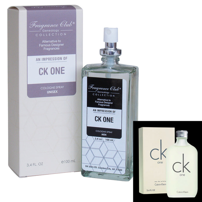 Fragrance Club Alternative to CK ONE by Calvin Klein