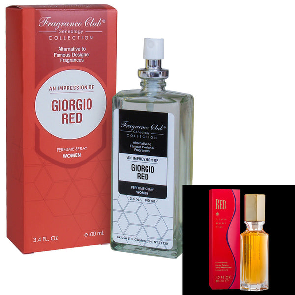 Fragrance Club Alternative to Giorgio Red by Giorgio