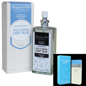 Fragrance Club Alternative to Light Blue by Dolce & Cabbana