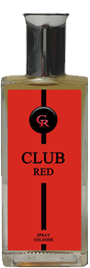 Club Red for Men 3.4 oz. Spray Cologne