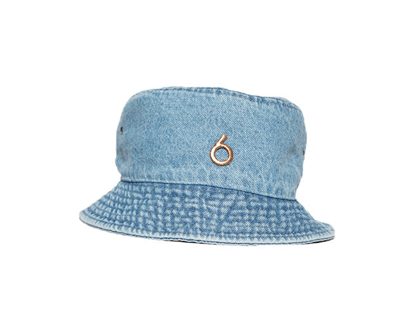 6 Denim Bucket Hat
