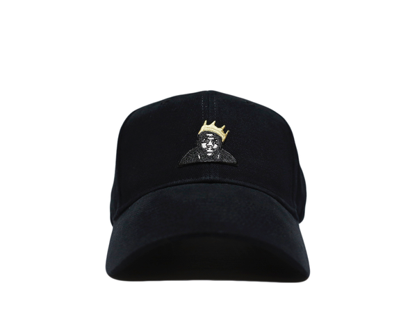Biggie aka B.I.G (Black)Strapback - brimzofficial Dad Hat