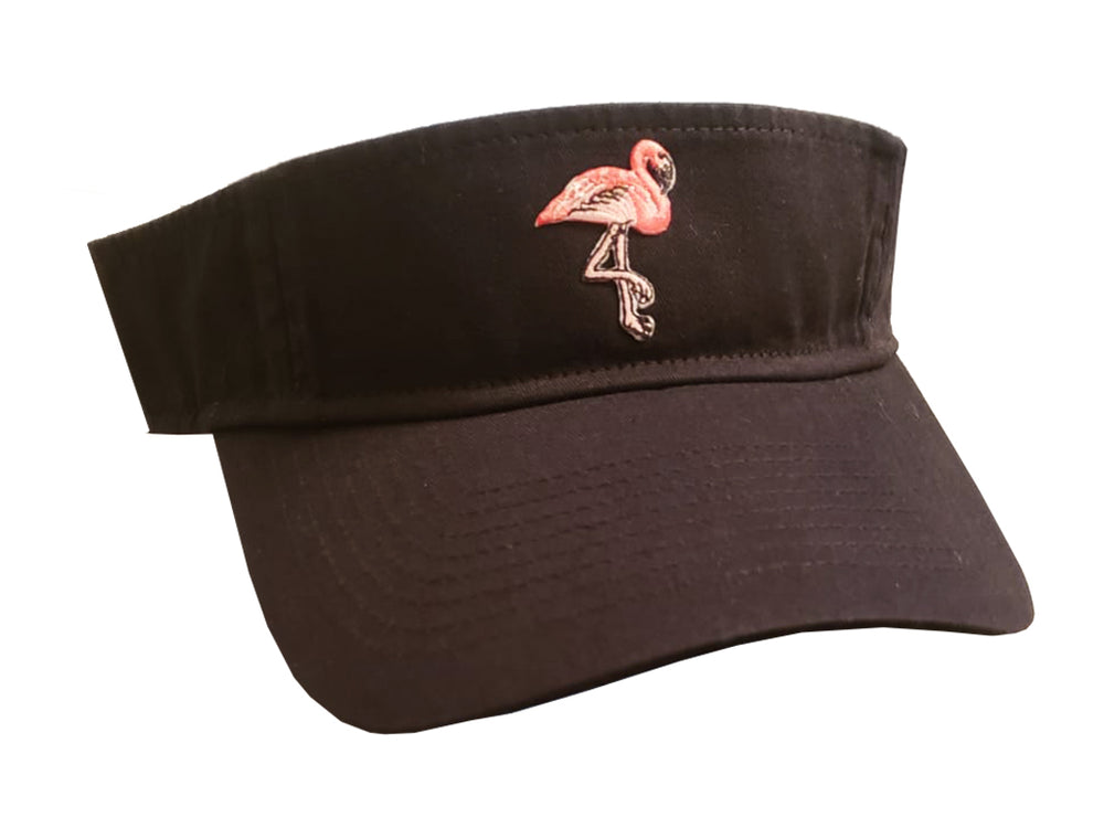 FLAMINGO VISOR (Black/PINK)