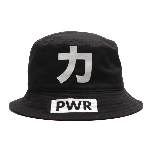 PWR Bucket Hat - Black