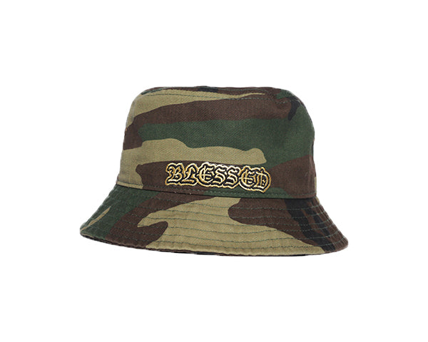 Blessed Bucket Hat - Camo