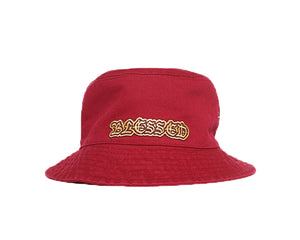 Blessed Bucket Hat -Red