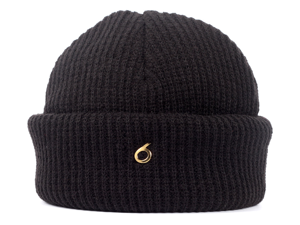 Metro 6 Harbour Beanie_black