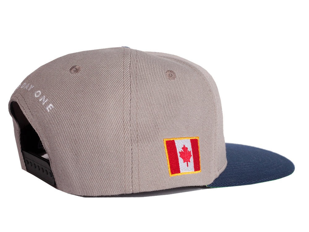 Canada Fly - Snapback (Grey/Navy)