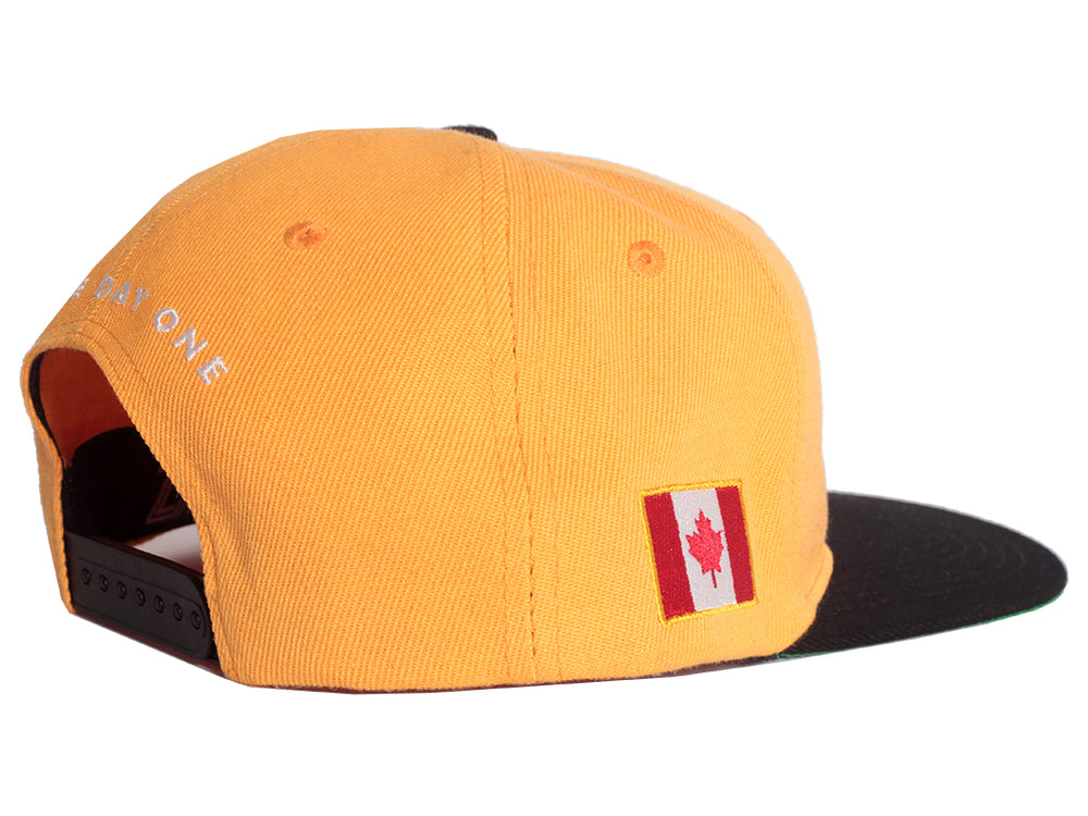 Canada Fly - Snapback (Yellow)