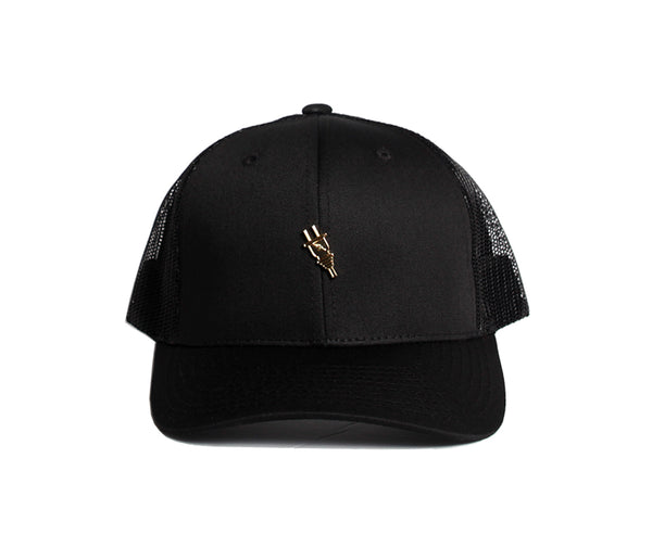 Cottage Trucker (Black)