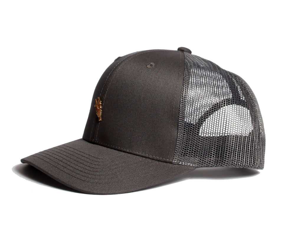Cottage Trucker Snapback (Grey) - Brimzofficial