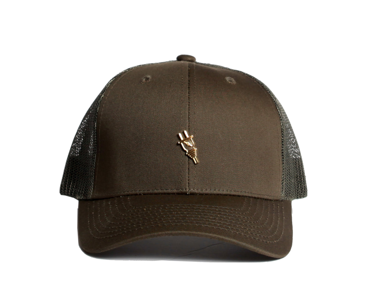 Cottage Trucker Snapback (Olive) - Brimzofficial ... d2b233e32f2
