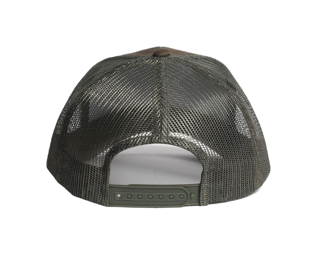 Cottage Trucker Snapback (Olive) - Brimzofficial - brimzofficial 0b8c1a5e4e7