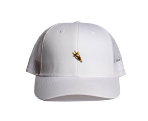 Cottage Trucker Snapback (White) - Brimzofficial