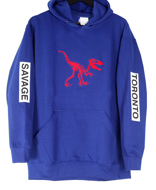 Dino Savage Hoodie_Royal Blue