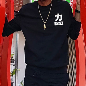 PWR FRENCH TERRY CREWNECK