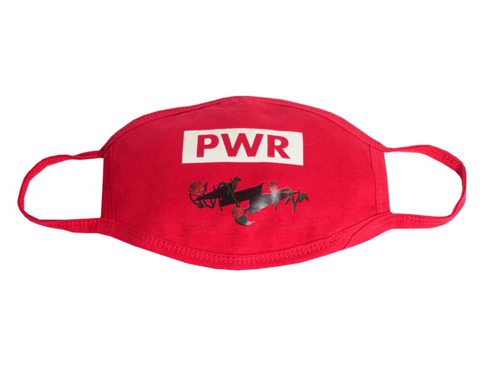 Rose Bolt PWR MASK - (Red) 1 PACK
