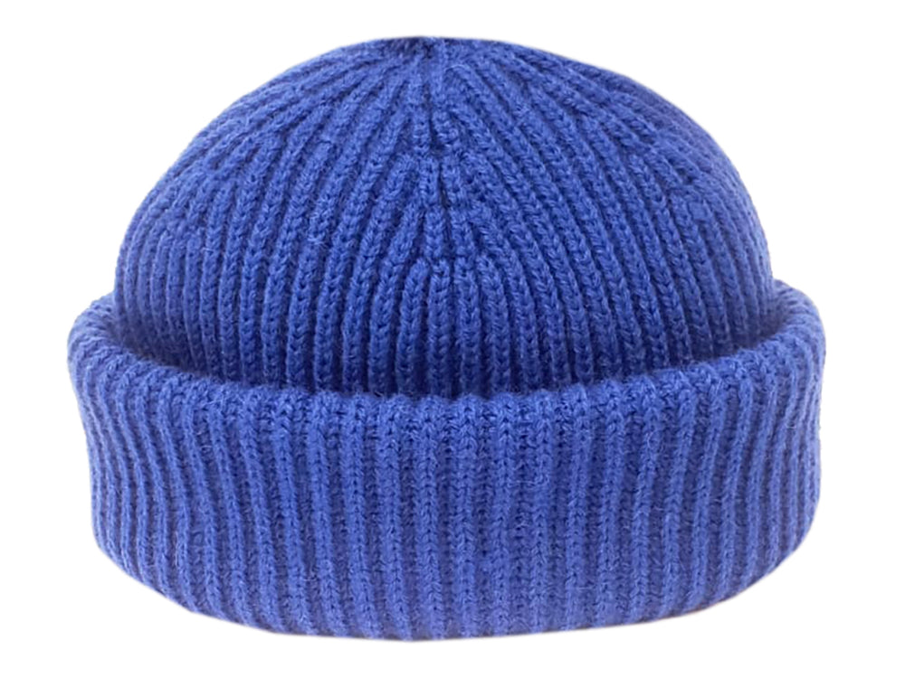 Merino Sailor Beanie - Royal