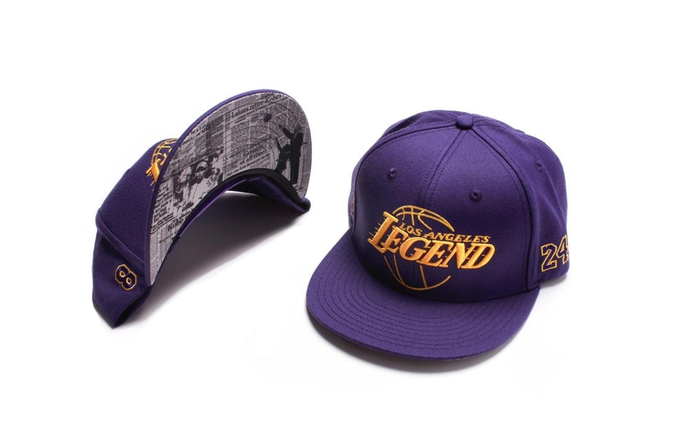 Los Angeles Legend - Snapback (Purple/Yellow)