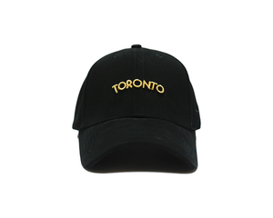Toronto Brimz - City (Gold) Strapback - brimzofficial Dad hat