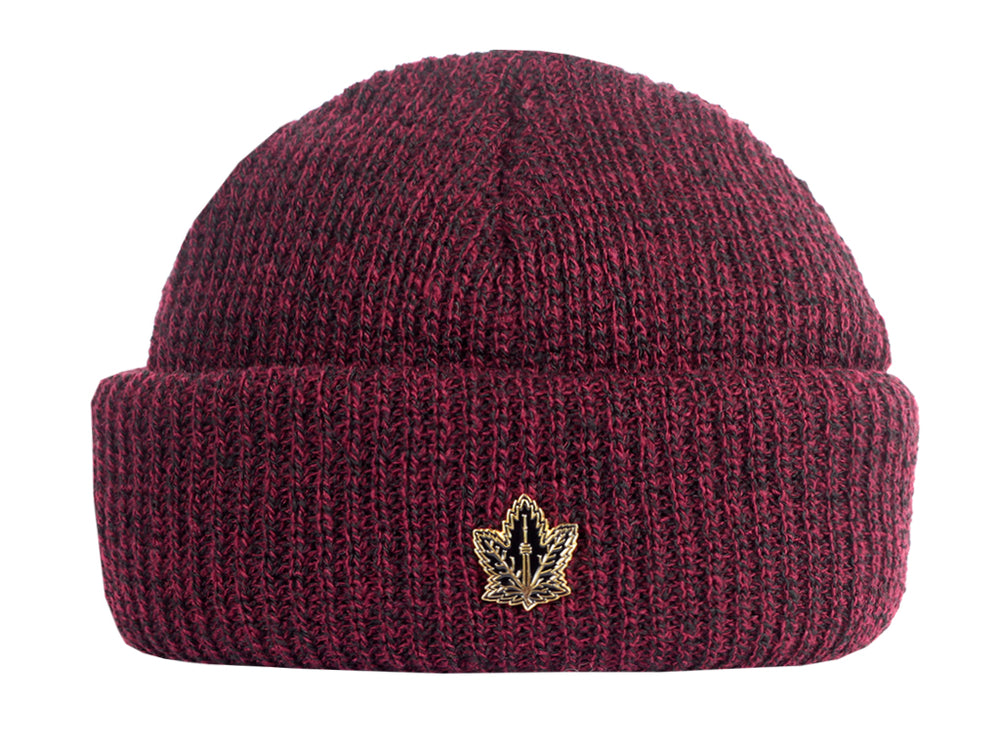 Champion Leaf Harbour Beanie_Burgundy Heather