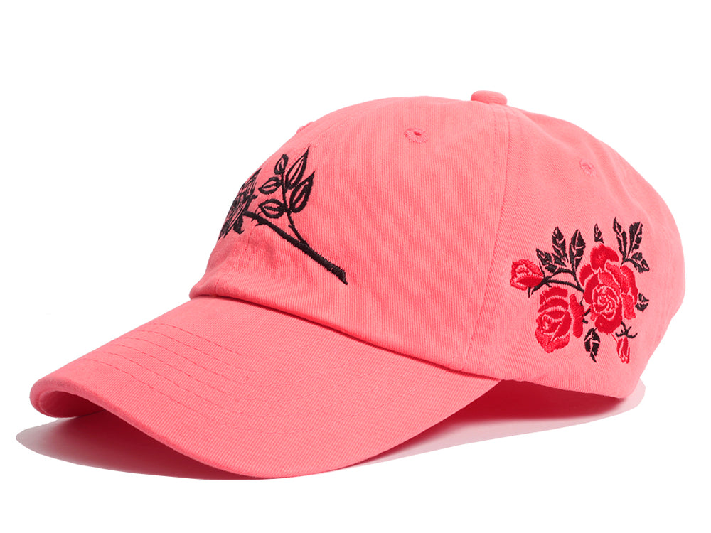 Wild Roses Dad Hat (Coral)
