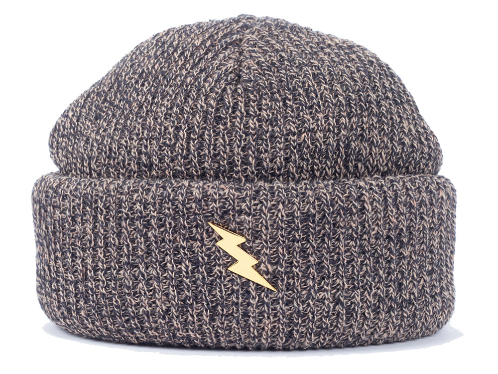 PWR Harbour Beanie Navy Mix