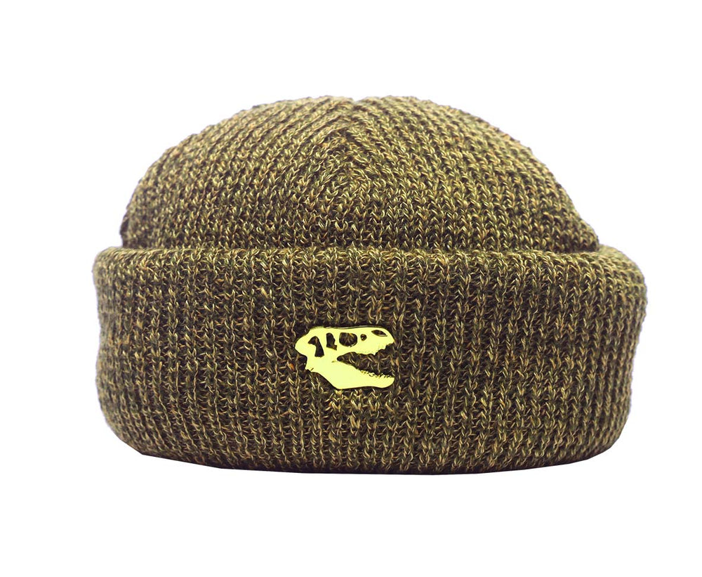 Harbour Beanie_Olive Mix