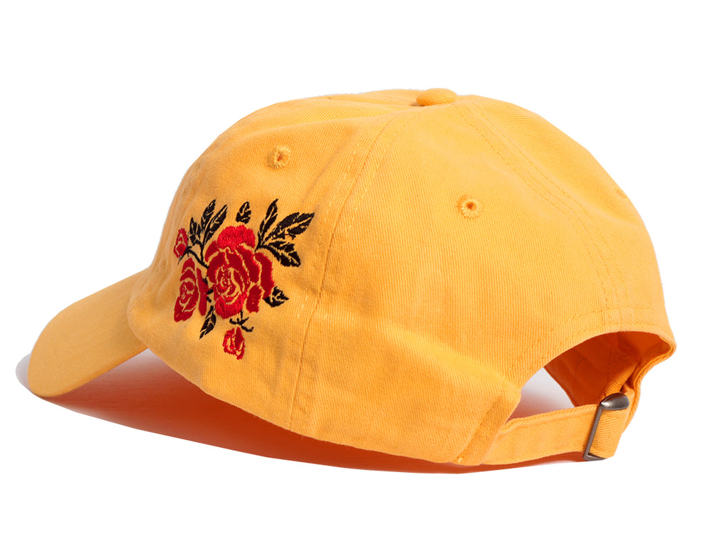 Wild Roses Dad Hat (Yellow)