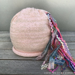 Infant - Baby Pink *Funky Chic Hat* (BCF06)