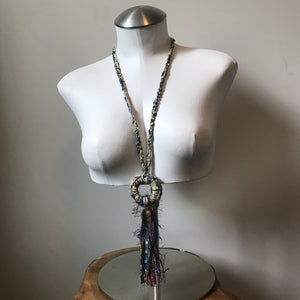 Boho Chic Fiber Necklace (BN1)