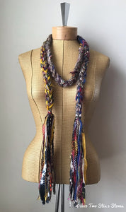 Multi-Colored Decorative Scarf/Belt