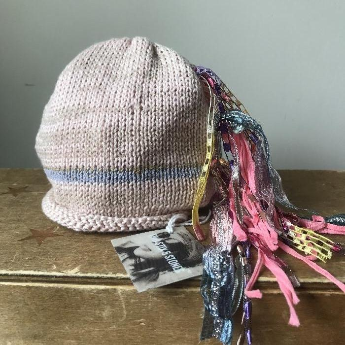 NB-6M Baby Pink *Funky Chic Hat* (FCNA10)