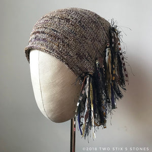 Brown Tweed *Funky Chic Hat* (FCNA16)