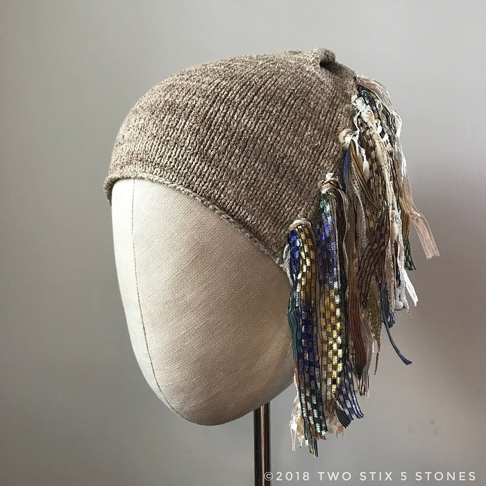 Putty Tweed *Funky Chic Hat* (FCNA25)